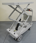 1050-EL motorized electric lift cart