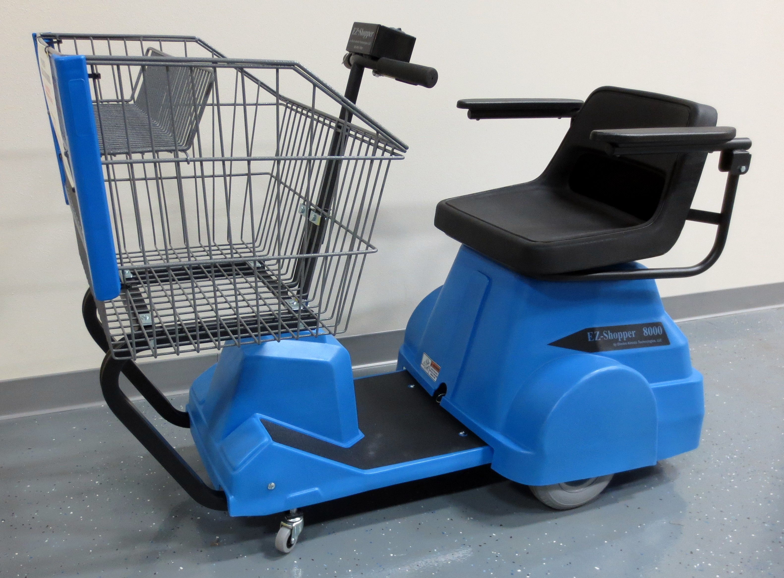 8000 Electric Shopping Cart Electro Kinetic Technologies