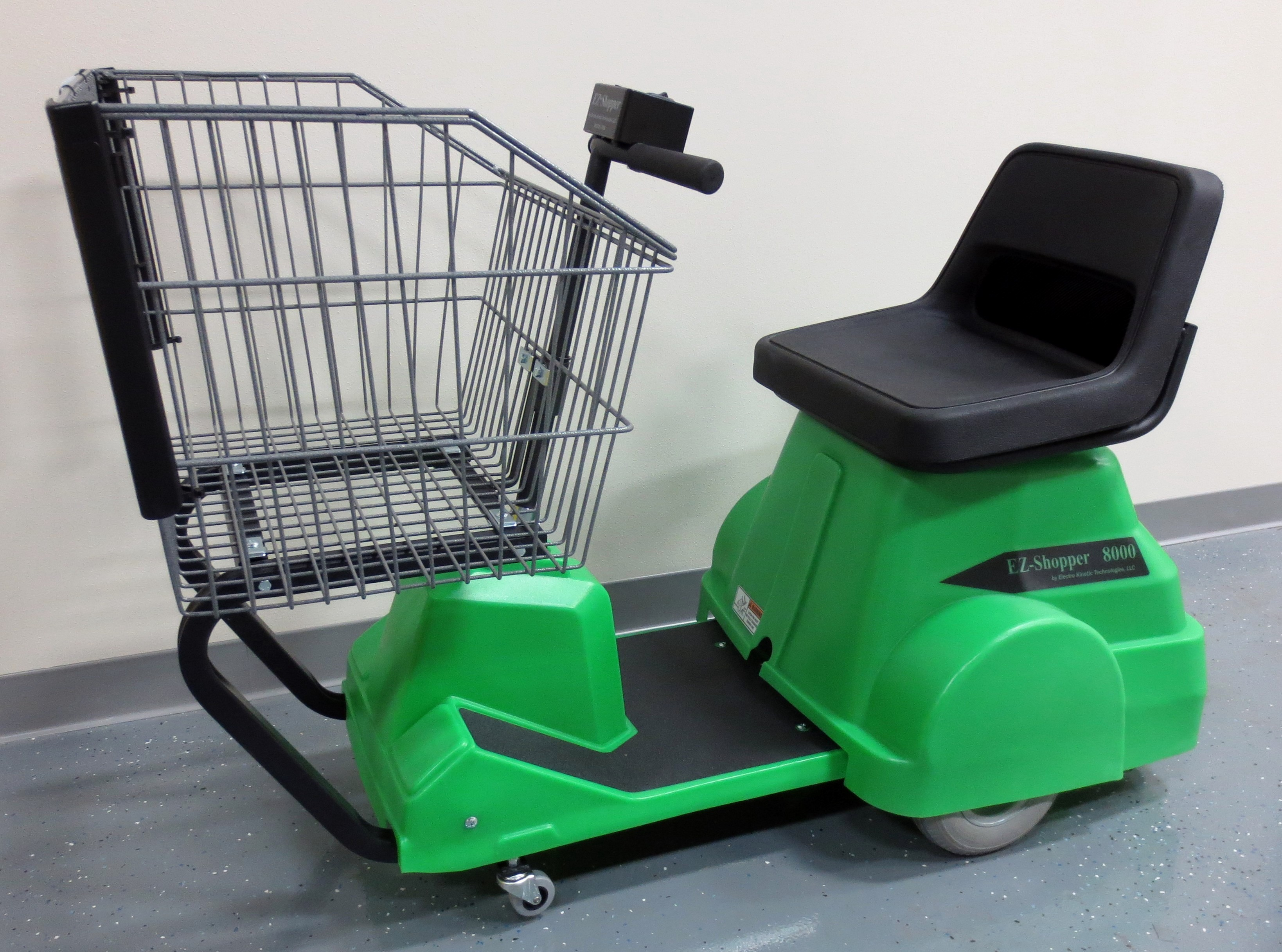 8000 Electric Shopping Cart - Electro Kinetic Technologies