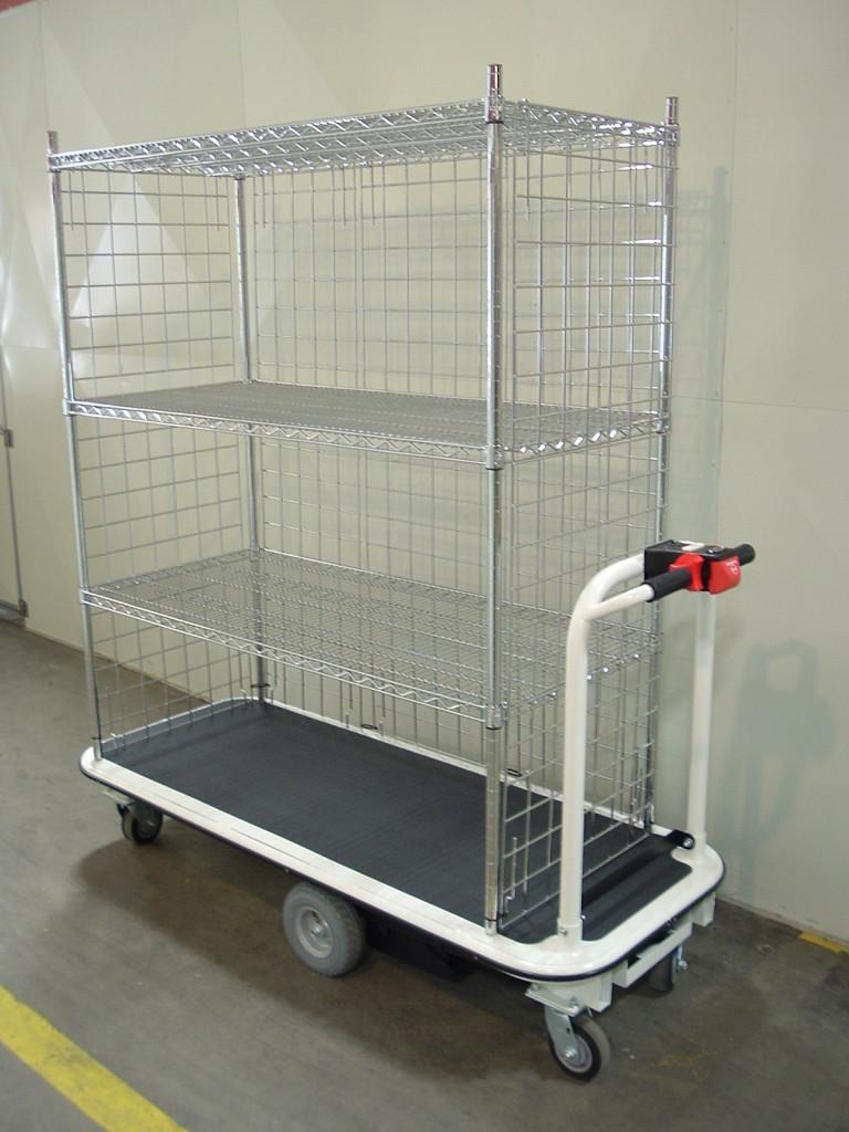 1031 Powered Platform Cart Electro Kinetic