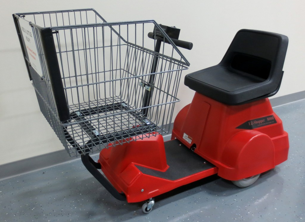 8000 electric shopping cart electro kinetic