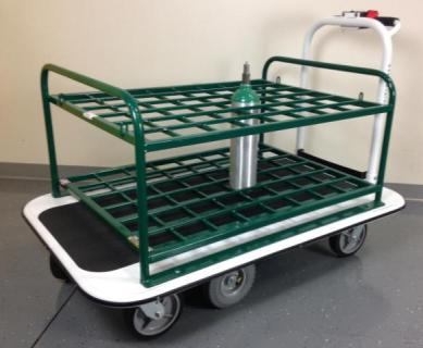 medical gas cylinder carts