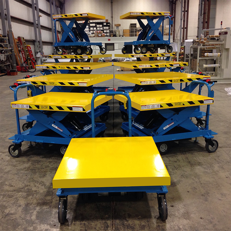 Custom Motorized Scissor Lift Cart gallery