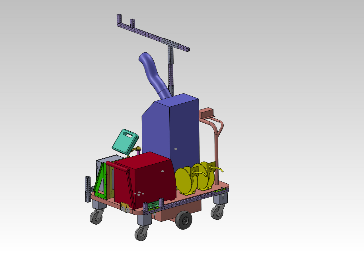 Motorized Cooling Cart