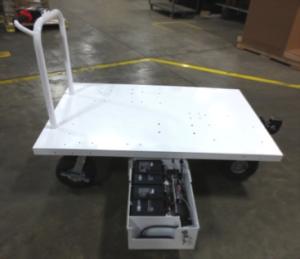 NASA Motorized Platform Cart