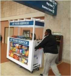Food Service Motorized Kiosk