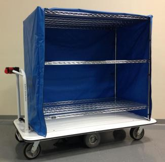 Motorized Linen Carts