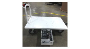 Custom Motorized Cart for NASA