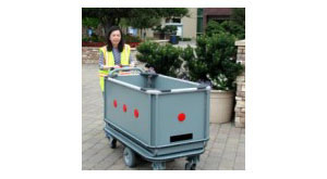 Motorized Library Cart Material Handling - Retro-Fit Program