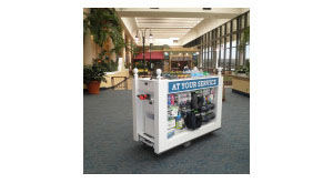 Motorized Kiosk Cart - Retro-Fit Program