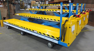 scissor lifts - motorized carts