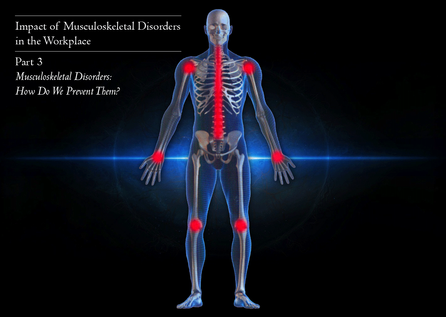 How Can Musculoskeletal Disorders be prevented in the Workplace?