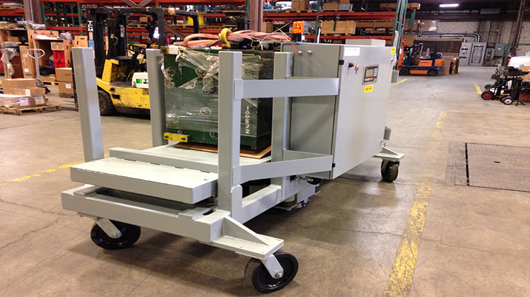 transfer carts - motorized carts