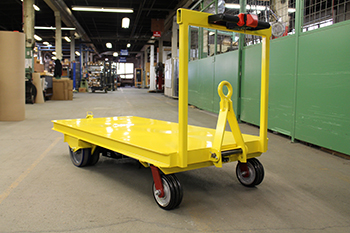 Case Study Towable Industrial Motorized Carts