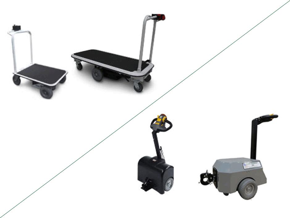 Platform Carts Vs Tuggers Electro Kinetic Technologies