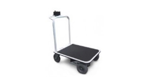 1000 lb capacity motorized flatbed carts