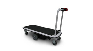 1500-2000 lb capacity motorized flatbed carts
