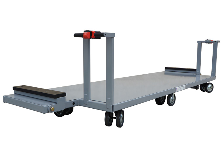 Large Deck with Dual Controls