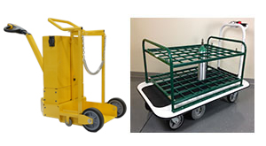 motorized gas cylinder carts - motorized carts