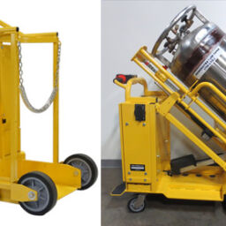 Motorized Gas Cylinder Carts