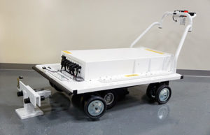 Custom Platform Cart for the Nuclear Industry final product