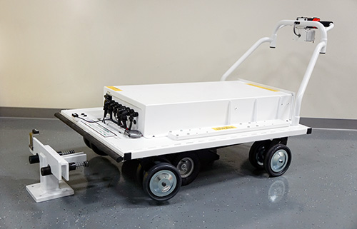 Custom Platform Cart for the Nuclear Industry