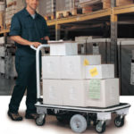 motorized equipment trials for material handling