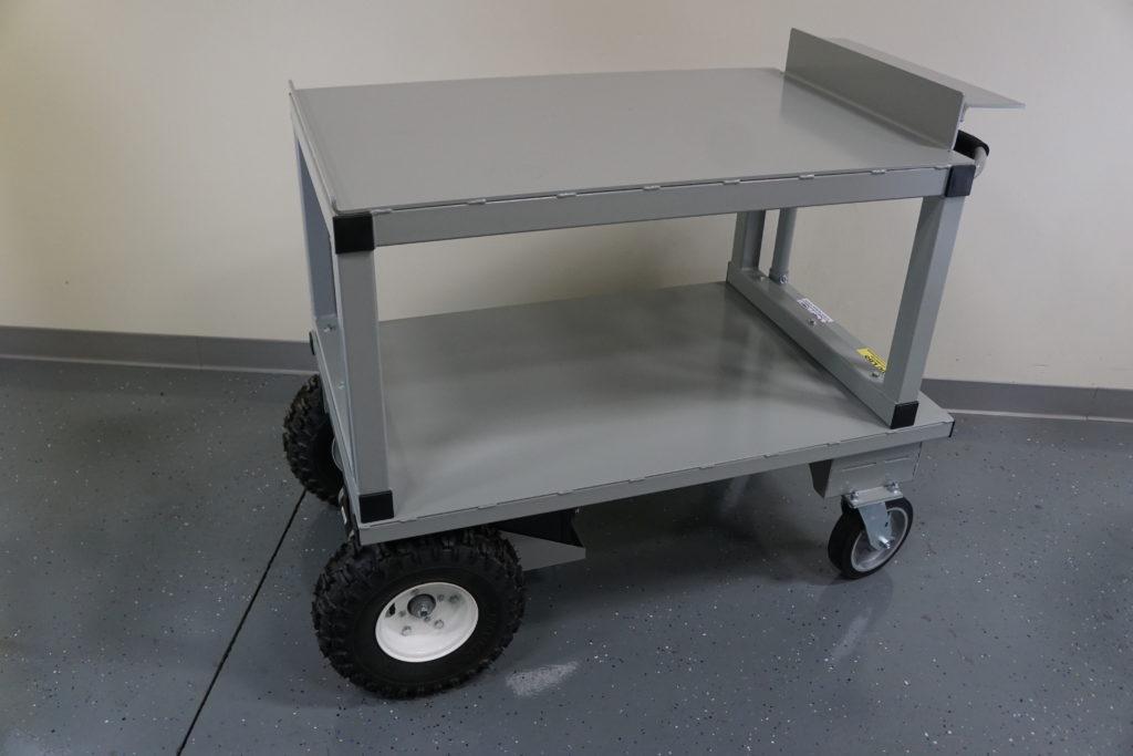 custom double deck cart