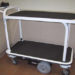 Double deck utility carts