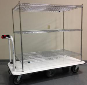 chrome-wire-shelving-cart