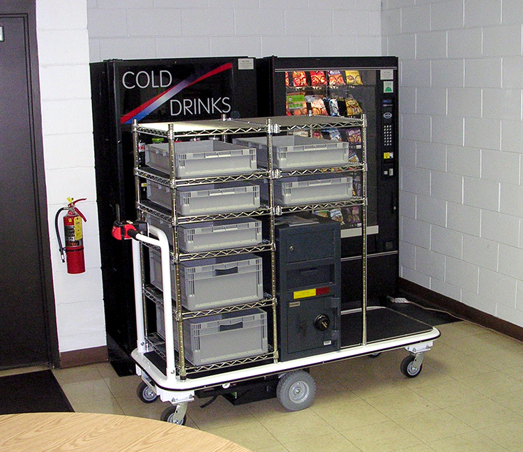 Vending Machine Restocking Cart