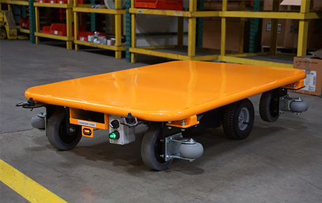 Wireless Cart on Elevated Track Case Study
