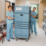 Protect Hospital Linen and Laundry Staff with Motorized Solutions