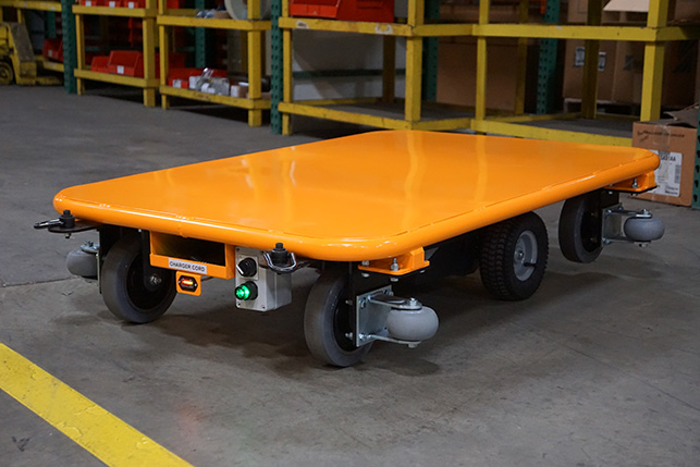 Motorized Material Supply Cart