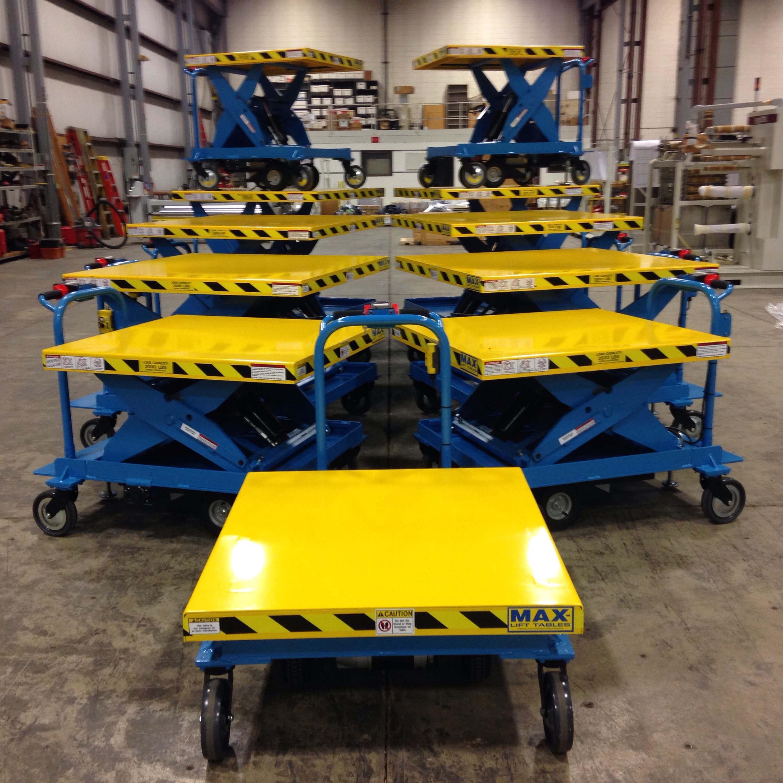 Motorized Scissor Lift Carts