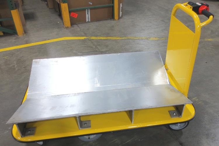 1500 lb. Capacity Core Sample Cart Petroleum Industry