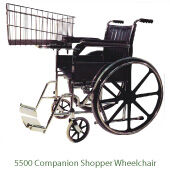 5500 Companion Shopper Wheelchair