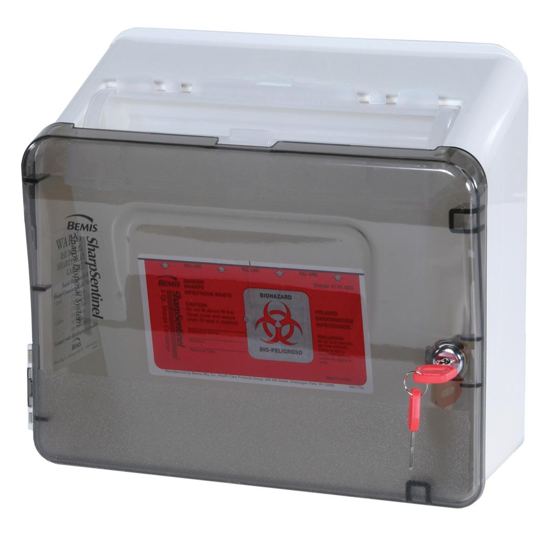 Lockable Biohazard Container
