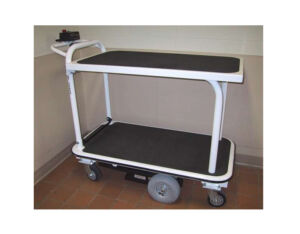 Motorized Double Deck Cart