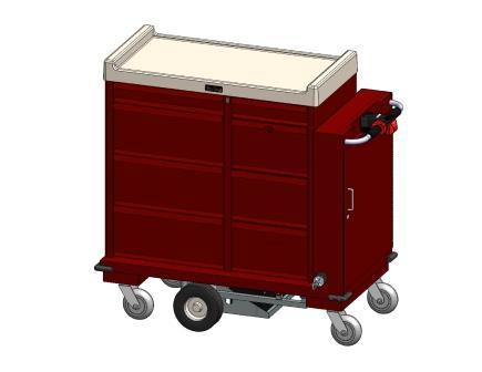 Custom Motorized Medication Cart