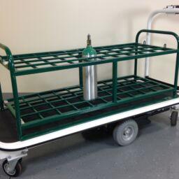 medical gas cylinder cart