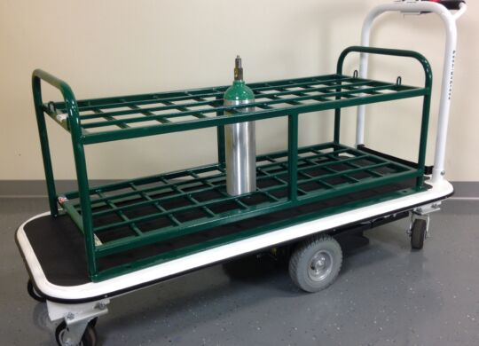 medical gas cylinder cart