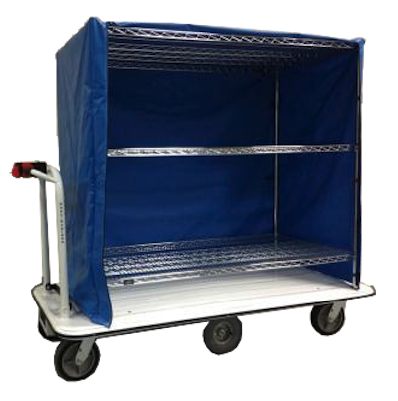 Motorized Linen Cart