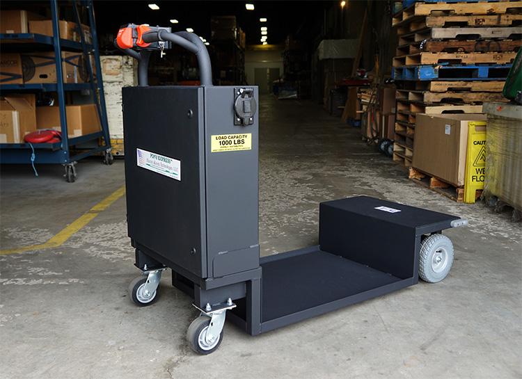 Motorized Low Boy Cart