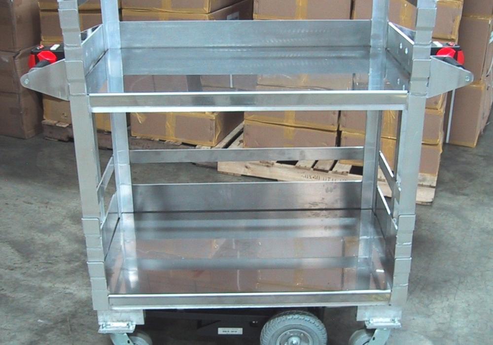 Stainless Steel Clean Room Cart