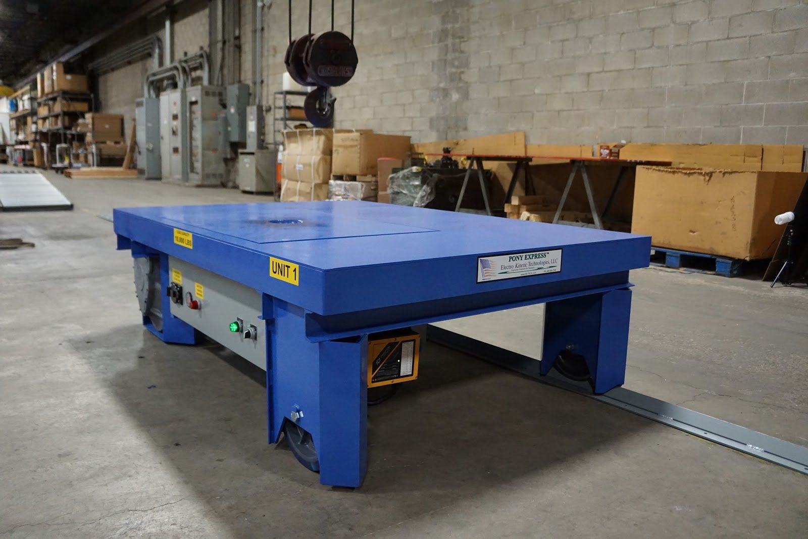 Transfer Carts in Automotive Manufacturing