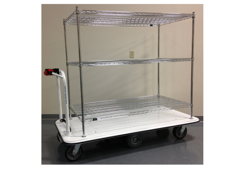 Utility Cart With Shelves