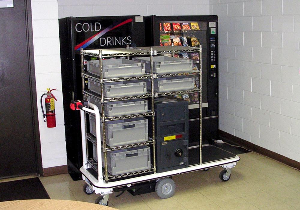 Vending Machine Service Cart
