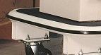 360° perimeter vinyl bumper