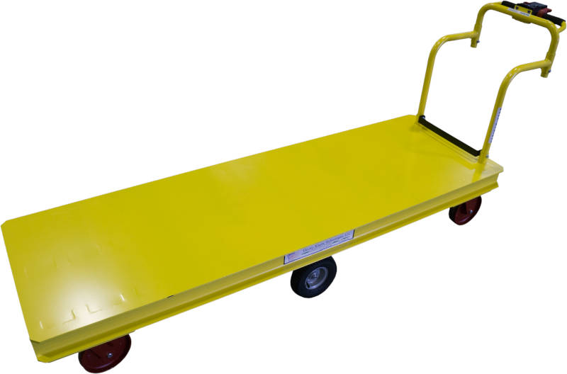 High Capacity Motorized Platform Cart
